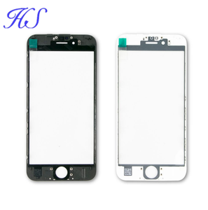 TOP Quality iPhone Glass Cold Glue Press With Frame With OCA For iphone 5 6s 7 8 Plus X Replacement